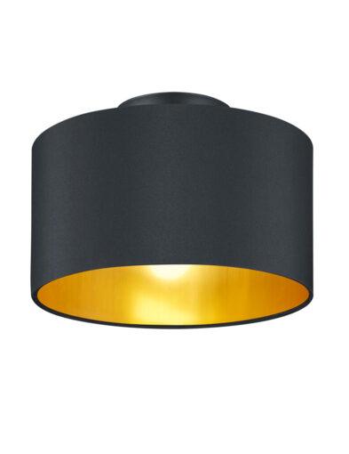 Deckenleuchte schick schwarz gold-3139ZW