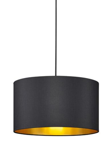 Schicke Pendelleuchte schwarz gold-3140ZW
