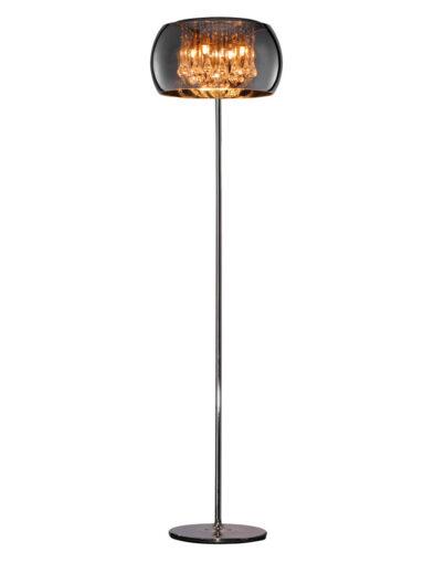 Besondere Stehlampe Rauchglas-3146CH