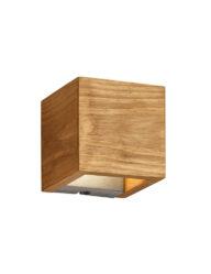 Viereckige Wandleuchte Holz-3154BE