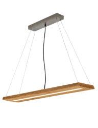 Natürliche Esszimmerleuchte Holz-3155BE