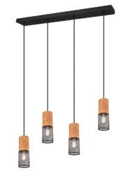 Moderne Hängeleuchte Esstisch schwarz-3162ZW