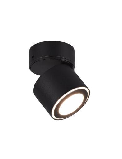 Praktischer Deckenspot verstellbar schwarz-3167ZW