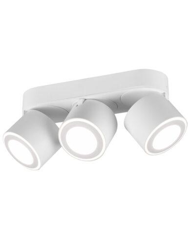 Deckenleuchte verstellbare Spots weiß-3169W
