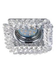 Besonderer Einbaustrahler Kristalle Chrom-3185CH