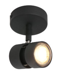 Moderner drehbarer Deckenspot schwarz-7901ZW