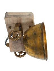 Deckenleuchte Holz bronze-7968BR