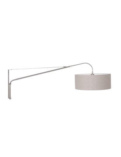 Moderne Bogenlampe Stahl beige-9329ST