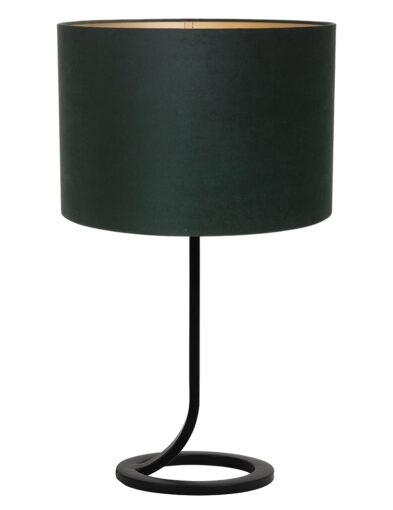 Tischlampe schick schwarz-9374ZW
