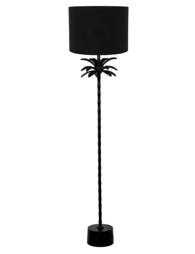 Stehlampe Palme schwarz-9383ZW