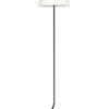 Stehleuchte fließender Lampenfuß schwarz und weiß-9391ZW