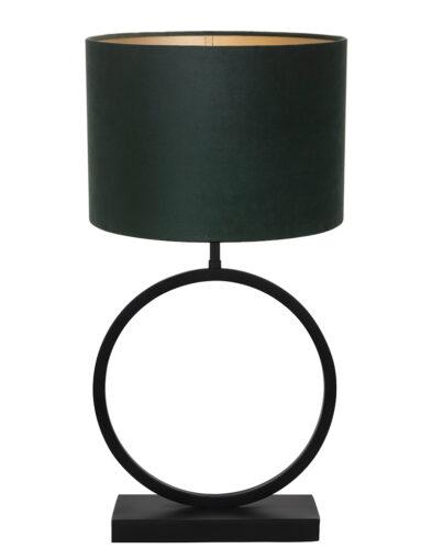 Tischleuchte runder Lampenfuß grün-9400ZW