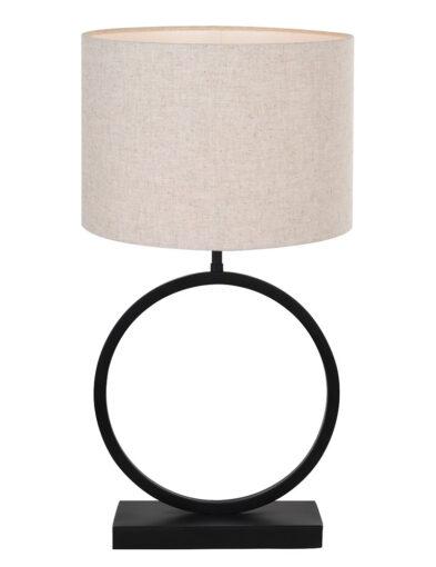 Tischleuchte runder Lampenfuß braun-9402ZW