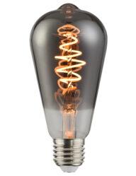Leuchtmittel Rauchglas E27 5W-I15229S