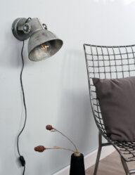Industrial Style Wandlampe